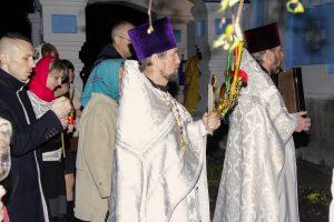 Пасхальное Богослужение в Свято-Успенском женском монастыре