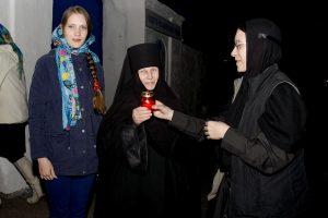 Встреча благодатного огня из Иерусалима