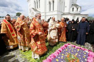 Архиепископ Димитрий принял участие в торжествах в честь дня памяти преподобной Евфросинии, игумении Полоцкой