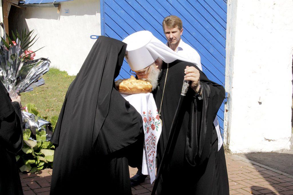 Митрополит Минский и Заславский Павел впервые посетил Свято-Успенский женский монастырь